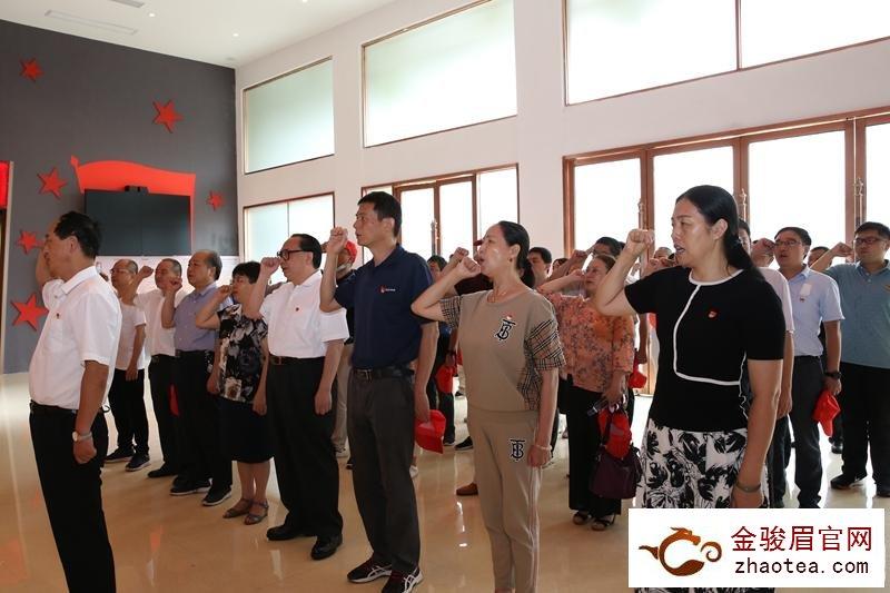 中共南平市委宣传部机关党委在武夷山开展主题党日活动